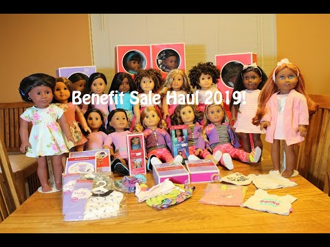 My American Girl Doll Benefit Sale Haul 2019 And More!