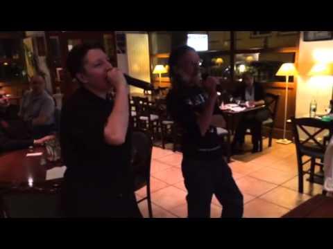 27-04-2014 Karaoke Fanny François - Je te promets