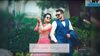 Romantic couple full screen status vedio || Girls Attitude || heart touching  status female