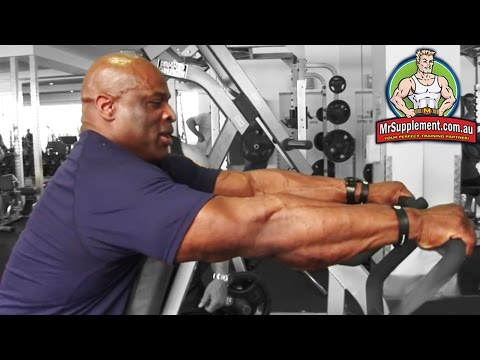 Ronnie Coleman's Hammer Strength Row | Back Exercise #4