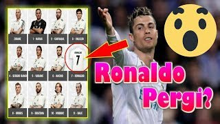 HEBOH!!! Misteri Hilangnya Cristiano Ronaldo dari Foto Pemain Real Madrid Musim Depan