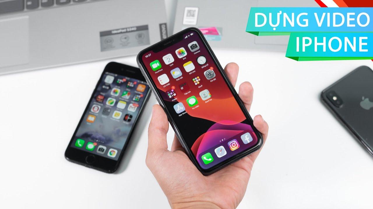 3 phần mềm miễn phí chỉnh video trên iPhone đỉnh nhất
