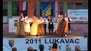 5. smotra folklora u Lukavac Mjestu