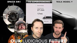 Ep 24 - SpaceX DM1, SuperCharger V3, and Tesla Model Y