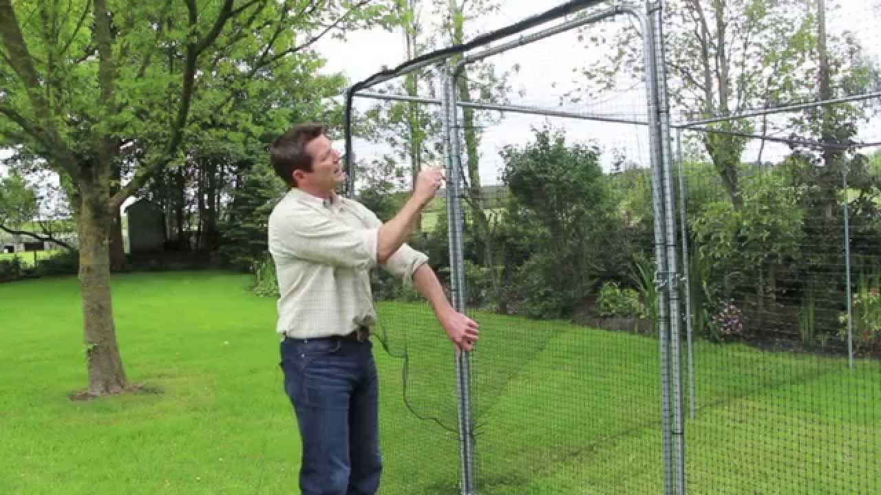 How To Build A Fruit Cage Doovi