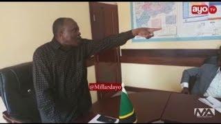 BREAKING:  Waziri Mbarawa atengua Mkurugenzi wa Maji