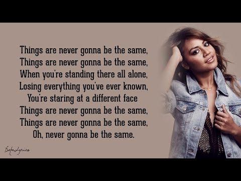 Never Be The Same - Jessica Mauboy (Lyrics) 🎵