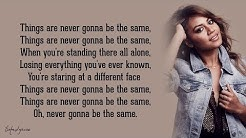 Never Be the Same - Jessica Mauboy (Lyrics) 🎵