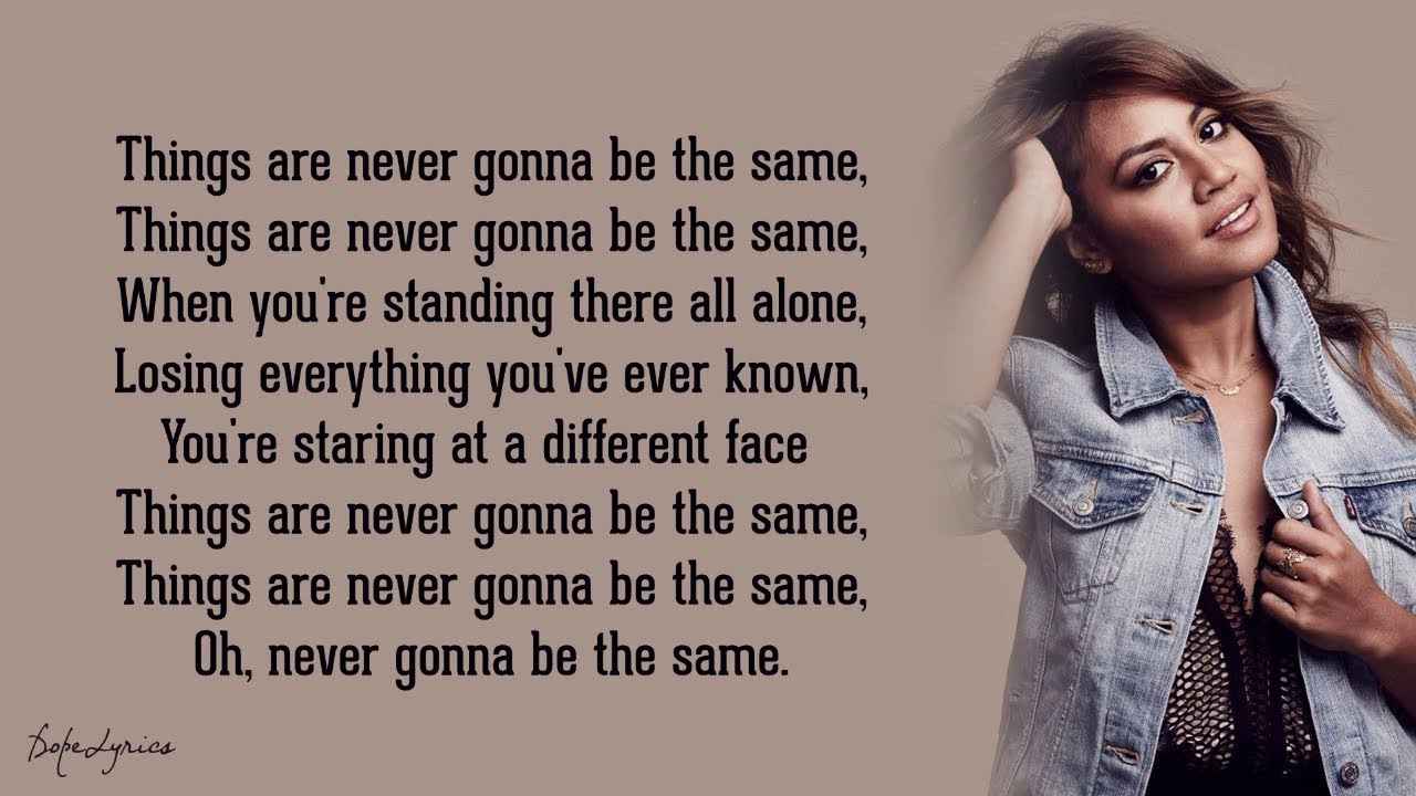 Download Never Be the Same - Jessica Mauboy (Lyrics) 🎵
