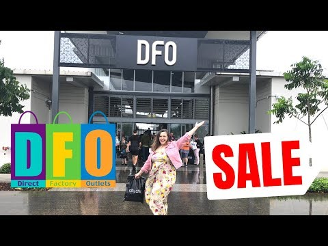 DFO SHOP WITH ME & TRY ON HAUL AUSTRALIA 2018