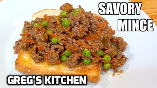 HOW TO MAKE SAVORY MINCE - Greg's Kitchen