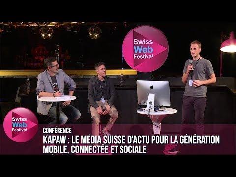 KAPAW : le média suisse d'actu pour la génération mobile, connectée et sociale