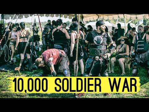 The Pennsic War: The Largest ROLE-PLAYING FESTIVAL in the World (largest battle) |
