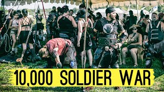 The Pennsic War: The Largest ROLE-PLAYING FESTIVAL in the World (largest battle)