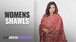 Top 10 Womens Shawls [2018]: Weavers Villa Women\'s Shawl (WV822-MAROON_Maroon_Large)
