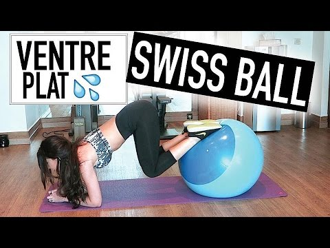 #GetSexy Ventre plat en 5 min avec une Swiss Ball | GEORGIA HORACKOVA