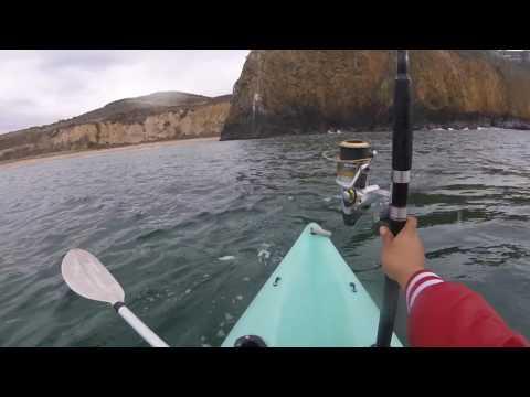 kayak fishing cystal cove  2016