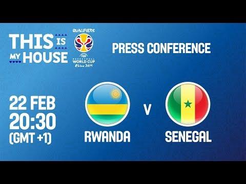 Rwanda v Senegal - Press Conference