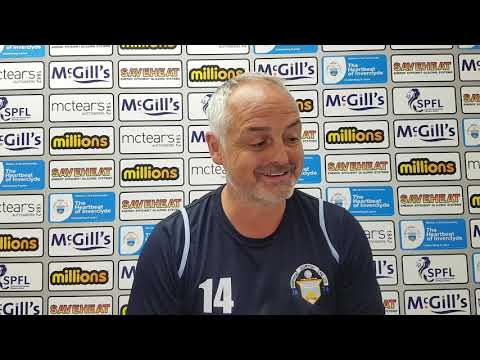 Ray McKinnon: Forfar Athletic match p