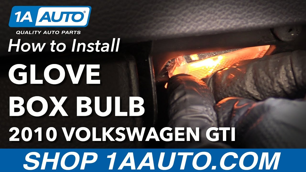 how to replace glove box bulb 10 14 volkswagen gti Off Road Fuse Box
