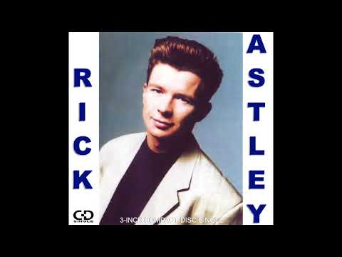 Rick Astley - Mini CD Single