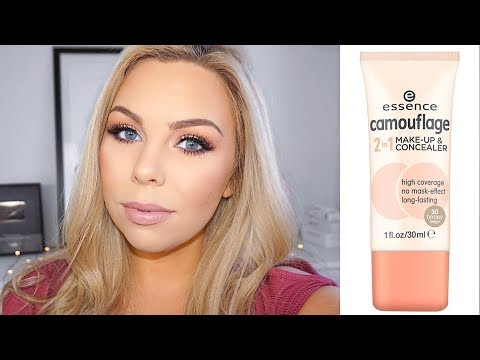 ESSENCE CAMOUFLAGE 2in1 Makeup & Concealer Foundation First Impressions