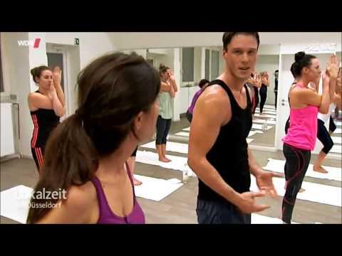 JIVA Hot Yoga Duesseldorf im WDR