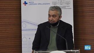 Cosi' il commissario per l'emergenza domenico arcuri, in conferenza allo spallanzani presentare i risultati della fase 1 del vaccino italiano reithera.co...