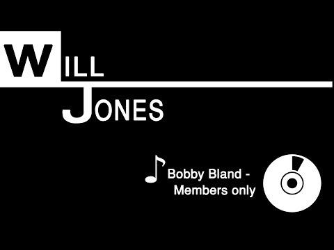 Bobby Bland-Members Only (Karaoke In E Flat)