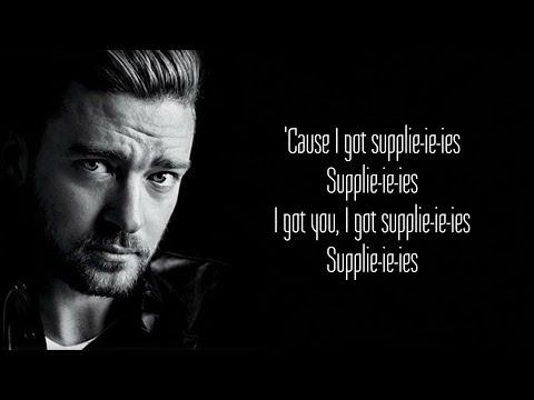 Justin Timberlake - Supplies (Lyrics)
