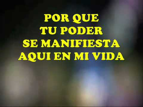 Tu me levantas - Luis Santiago - Pista