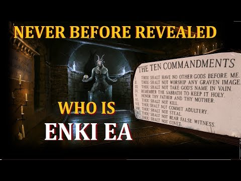 ATTENTION - SCHOLARS removed LORD ENKI  from bible  - This will ROCK the CHRISTIAN WORLD