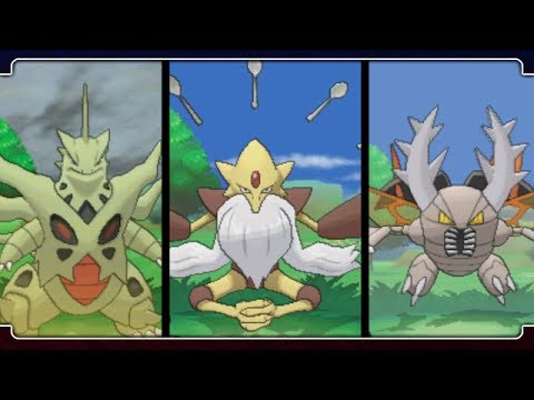 Pokemon X and Y: All Mega Evolutions!