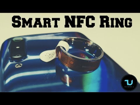 NFC Multifunctional Waterproof Intelligent Ring Smart Ring Android/iOS Review