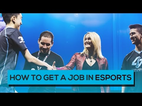How to Get a Job in E-Sports (from an E-Sports CEO)