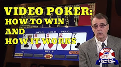 Video Poker - How to Win and How it Works