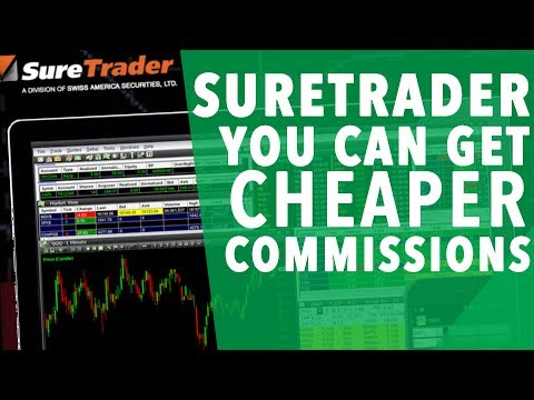 SureTrader Fees HOW TO GET CHEAPER COMMISSIONS!