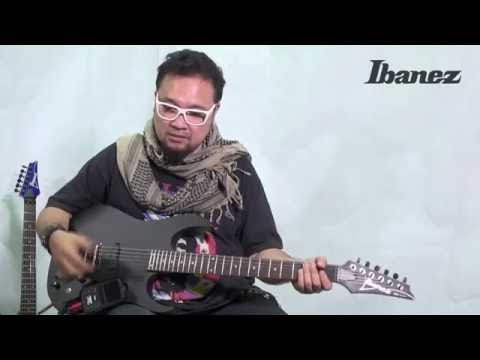 IBANEZ RGKP6 equipped with Korg® mini kaoss pad 2S Review By Baron