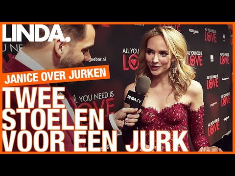 Janice keurt jurken op de rode loper bij 'All You Need is Love' || Janice over jurken || LINDA.