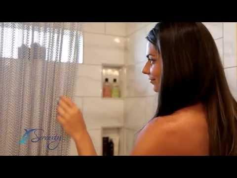 Luxury Shower Curtains | Cascade Coil Home Decor