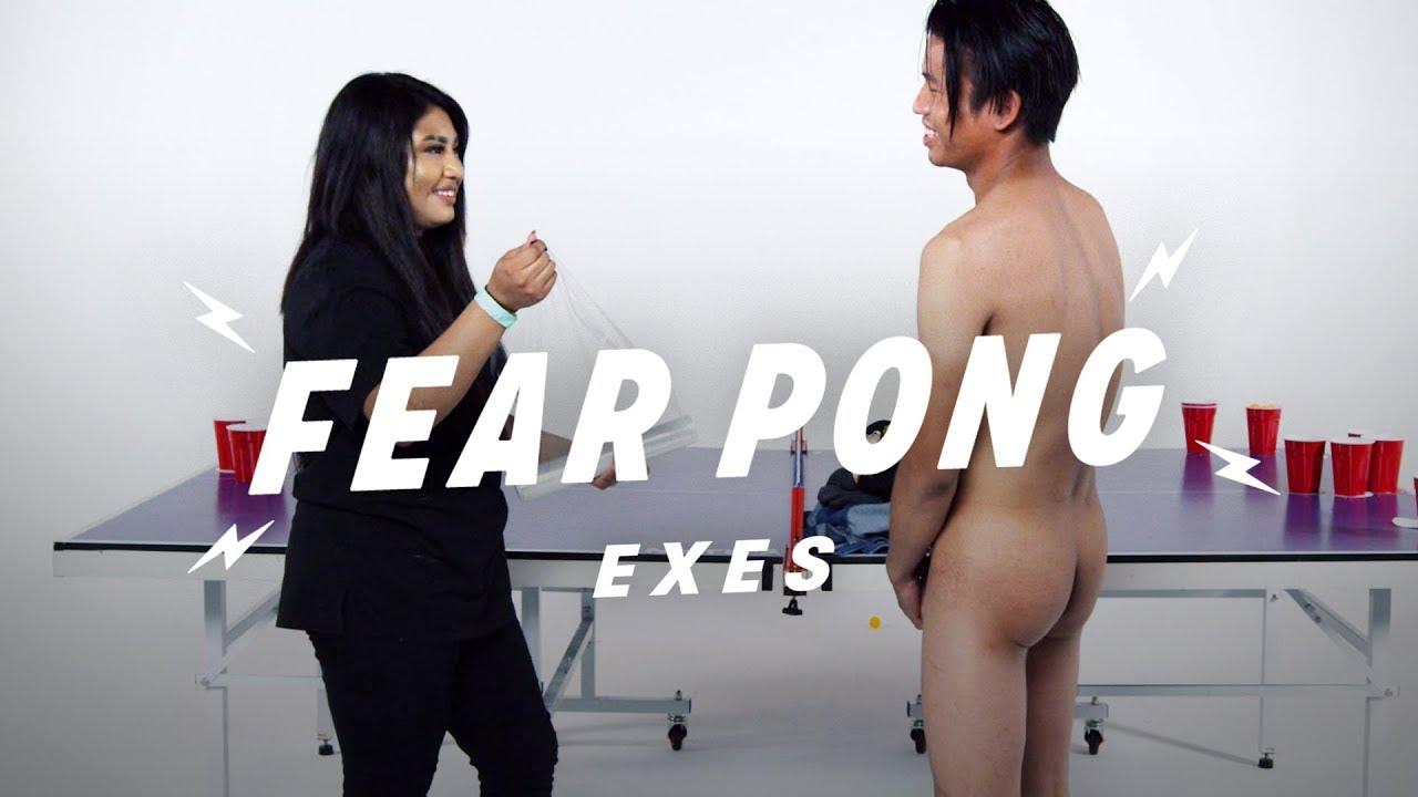 Exes Play Fear Pong (Angela vs. Augustin)   Fear Pong   Cut