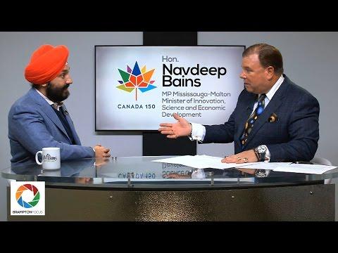 Navdeep Bains on Canada's Economy