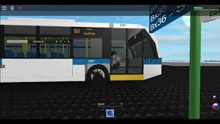(Roblox/TBT + RIP Audio) 2016 Novabus LFS #8387 On the Bx3