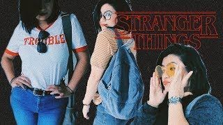 OUTFITS Para La ESCUELA - Stranger Things INSPIRED | L I N A B L A C K