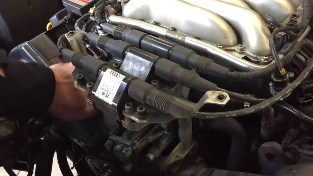 Wymiana Rozrządu Audi A6 C4 26 V6 Youtube
