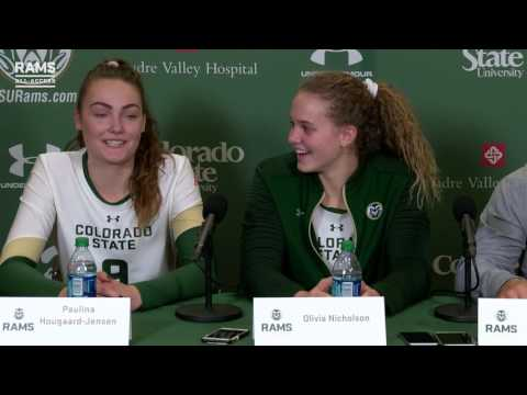 Colorado State Volleyball vs. San Jose State | Post Game Press Conference