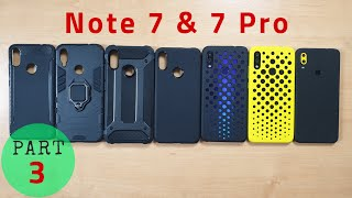 Best Accessories for Redmi Note 7 & 7 Pro | Back Case & Cover | Skins | Screen Protector | Hindi