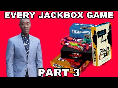 Playing Every Jackbox Game: Party Pack 3 |