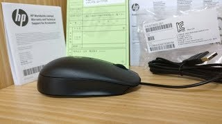 HP Wired Optical Mouse USB QY777AA HP USB Mouse Optical ORIGINAL