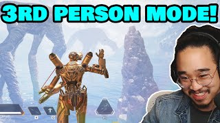 I PLAYED APEX IN 3RD PERSON!! (Apex Legends Easter Egg)